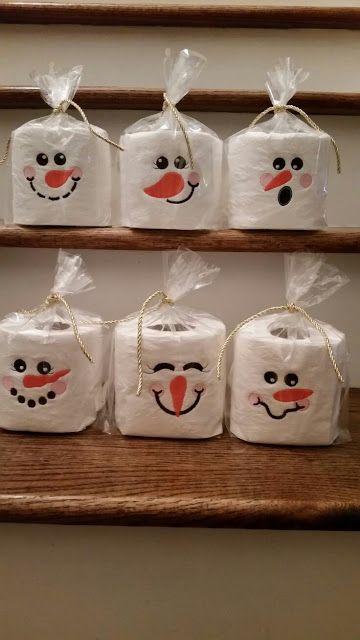 Ideas navideñas para decorar tu baño #manualidadesnavideñas