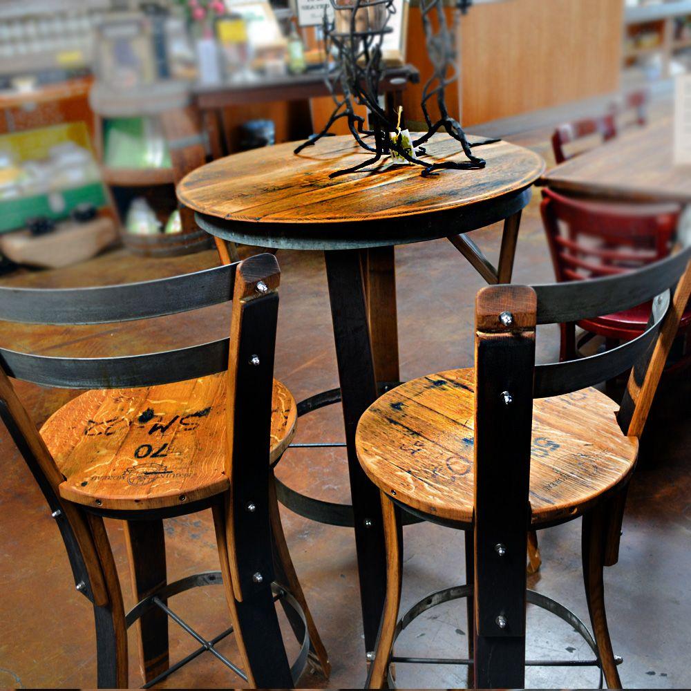 Effigy Of High Top Table Sets Wine Barrel Ideas Pub