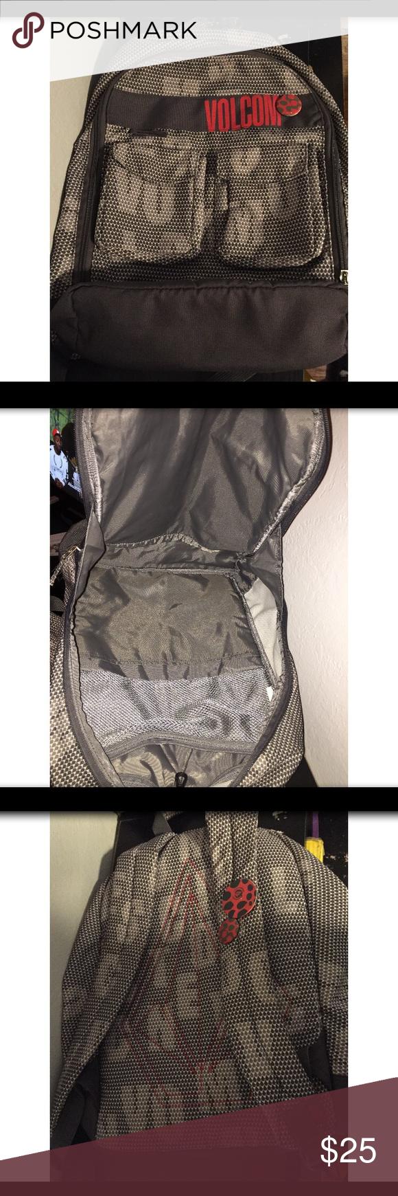 Volcom Backpack NWOT. Never used Volcom Backpack, really cute and lightweight! Volcom Bags Backpacks