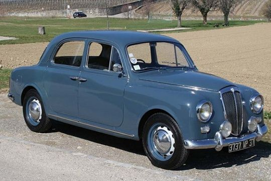 1959 Lancia Appia. This under-appreciated classic is something I could actually afford some day.