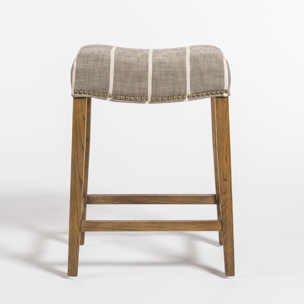 Enjoyable Saddle Bar Stool Alder Tweed Furniture Bar Stools In Uwap Interior Chair Design Uwaporg
