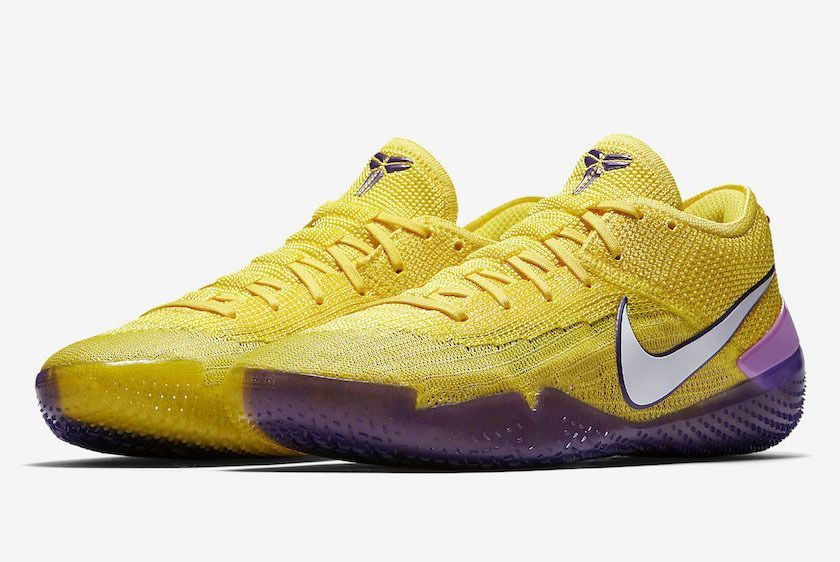 Nike Kobe Ad Nxt 360 Yellow Strike Lakers Aq1087 700 Release Date Sneaker  Freaker 0ff954286