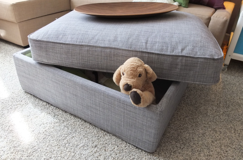 IKEA KIVIK Sofa and footstool with storage $395 se portland