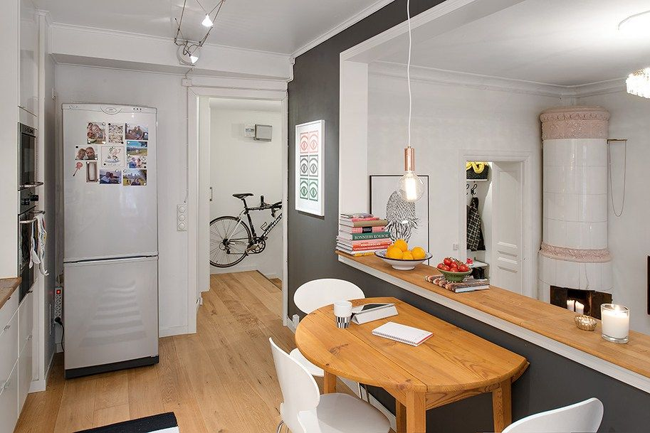 Beautiful Tiny House Kitchen Table