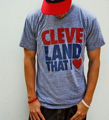 Never forget my roots! I may be a New York girl now, but I'm always a Clevelander at heart!