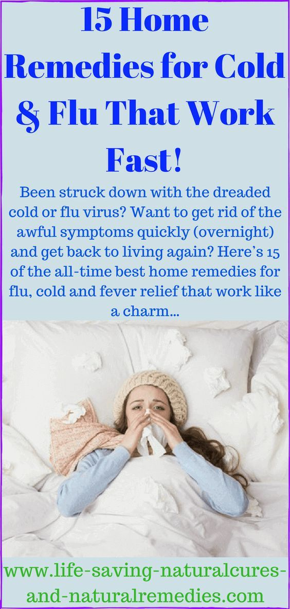How To Get Over The Flu As Quickly As Possible