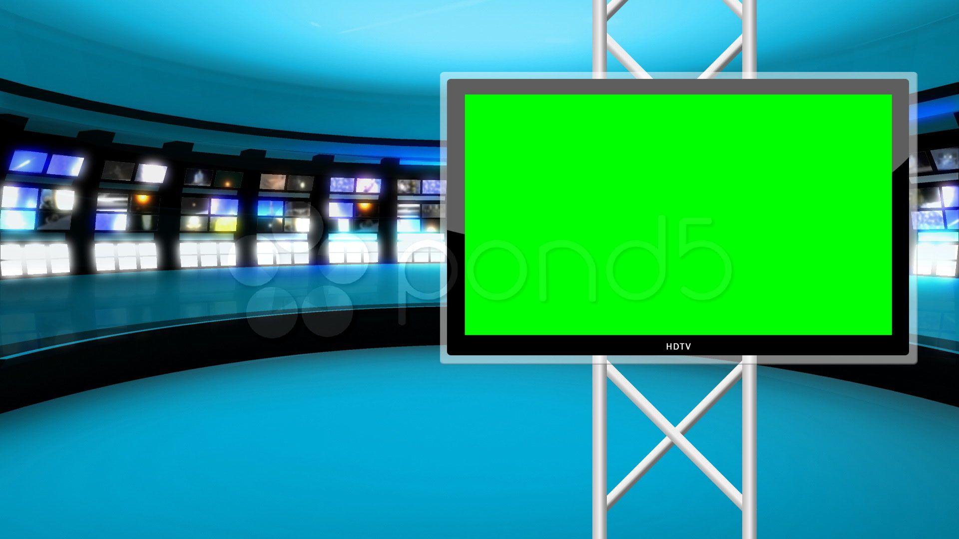 News Studio 9 Virtual Green Screen News Background Stock Footage Ad Virtual Green Studio News Greenscreen Green Screen Backgrounds Anime Scenery Wallpaper