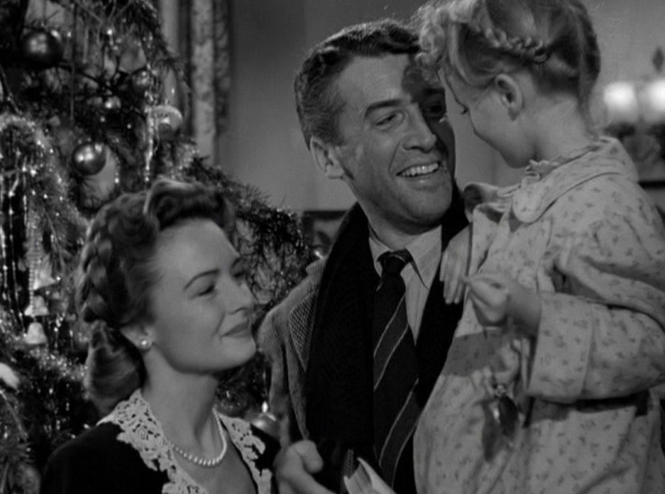 It S A Wonderful Life Zuzu Bailey Look Daddy Teacher Says Every Time A Bell Rings An Angel Gets H Best Christmas Movies Christmas Movies Favorite Movies