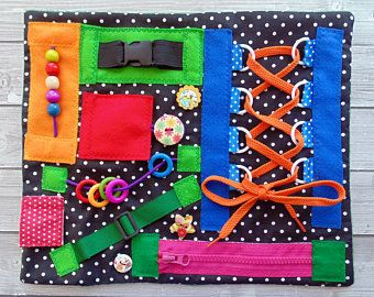 Therapy Toys Special Needs Skills Board Dementia Fidget Blanket Activity Sensory Busy Baby Travel