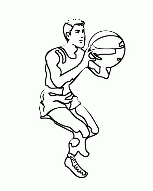 Nba Player Free Throw Coloring Page Color Luna In 2020 Coloring Pages Online Coloring Nba Players