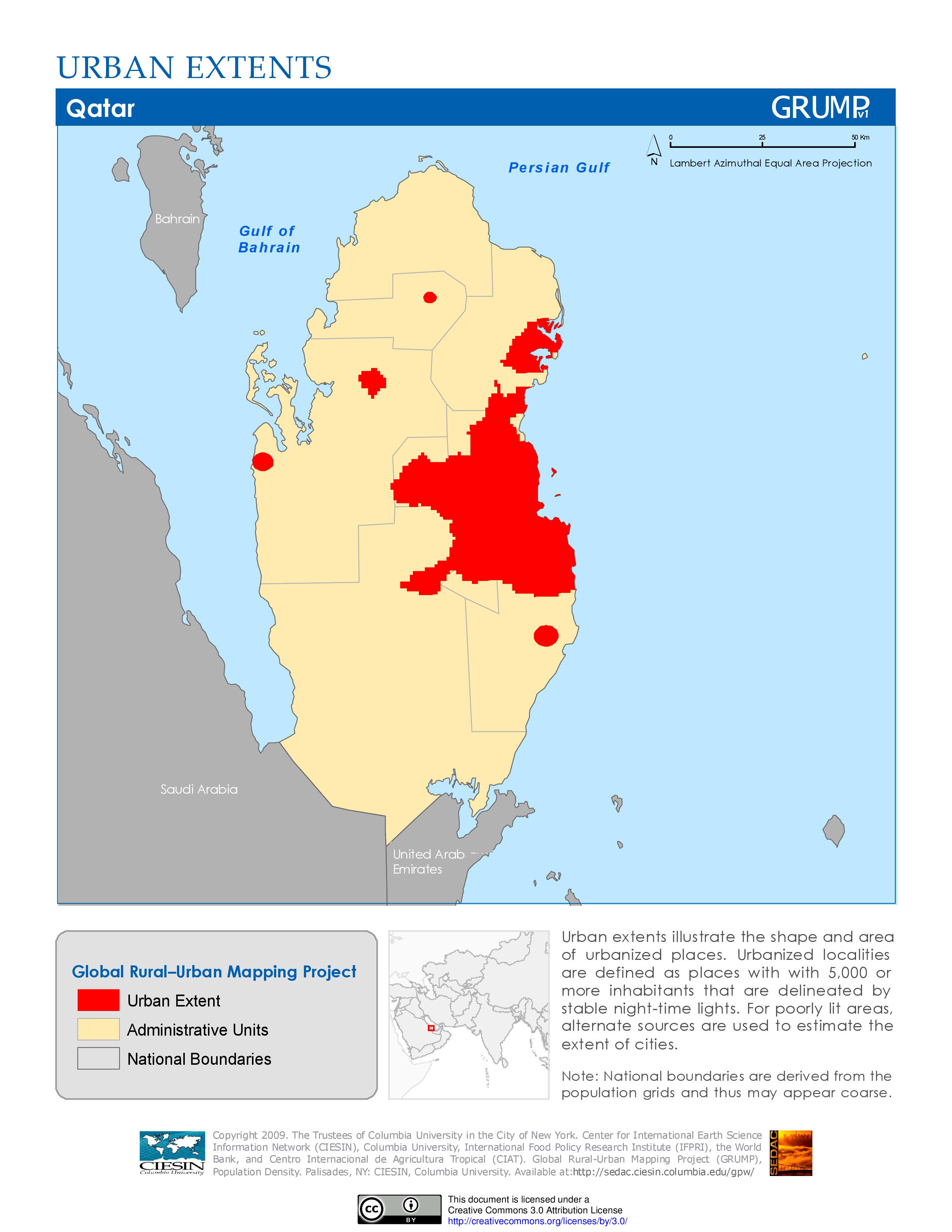 Urban extents of Qatar | Urban mapping, Urban, The unit on italy map area, algeria map area, cape verde map area, jamaica map area, bangladesh map area, kuwait map area, lebanon map area, puerto rico map area, palestine map area, egypt map area, rwanda map area, syria map area, middle east map area, iceland map area, haiti map area, japan map area, albania map area, asia map area, cayman islands map area, saudi arabia map area,
