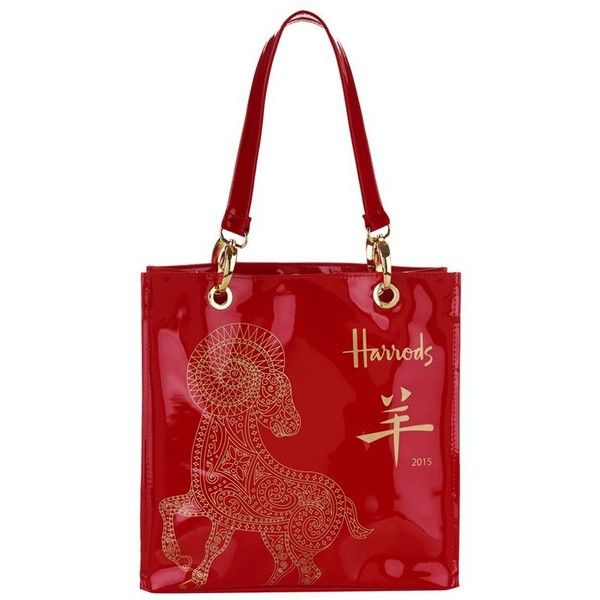 fd0062ce1968 ... Harrods Small Chinese New year 2015 Shopper Bag (63 CNY) ❤ liked on  Polyvore ... MICHAEL KORS Selma Saffiano Leather Medium Satchel ...