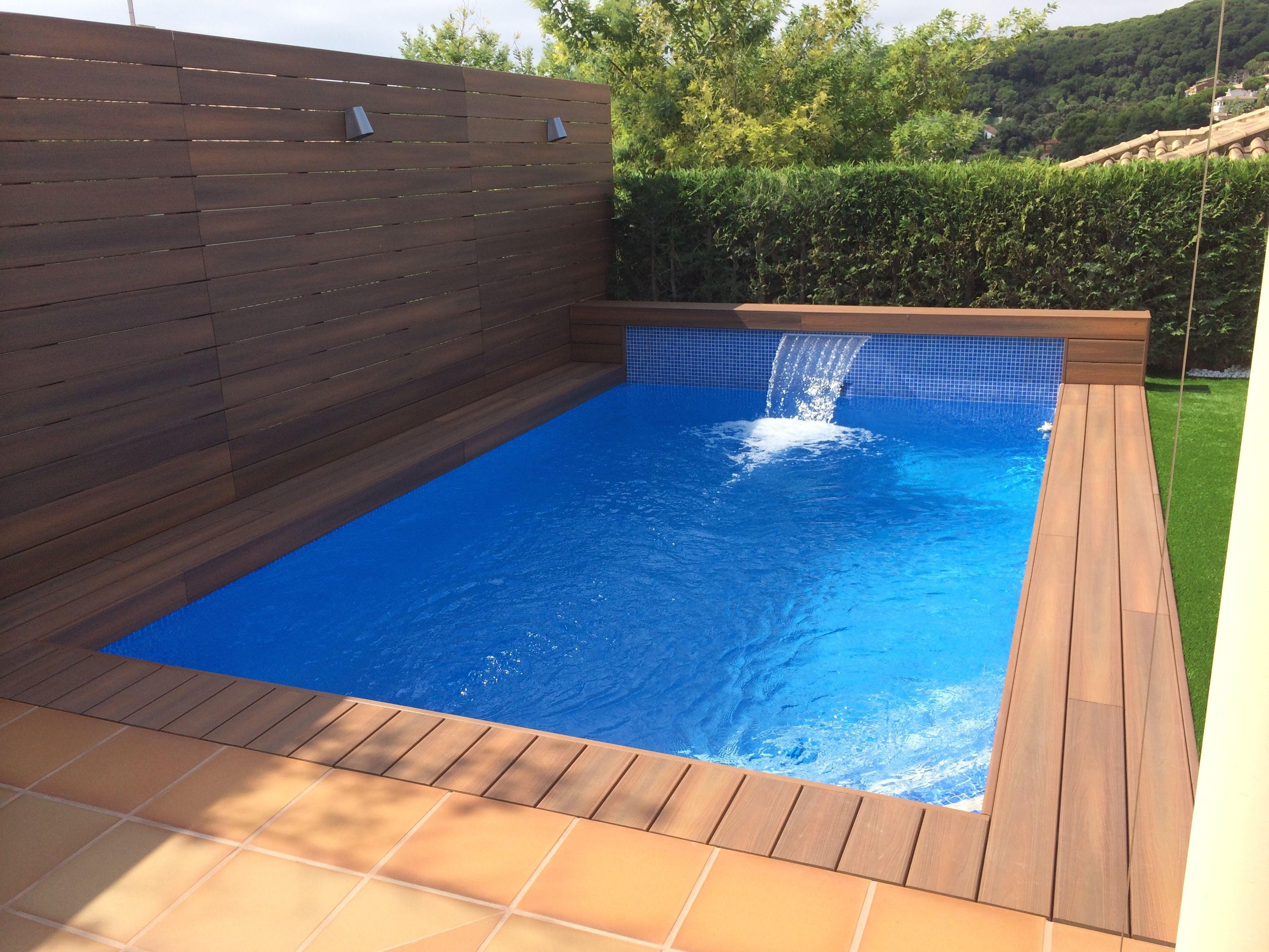 Proyecto de construcci n de piscina en cabrils piscinas for Zwembad achtertuin
