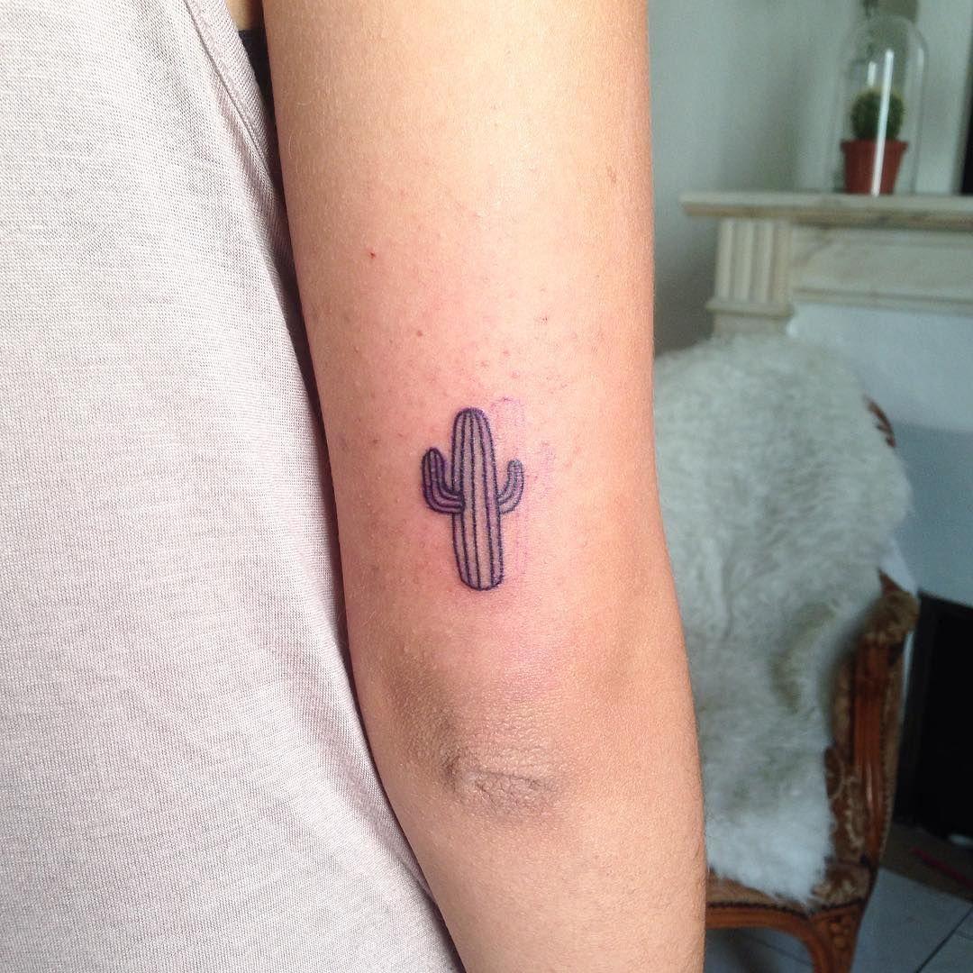 Get Inked, Not Pricked 25 Cactus Tattoos We're Loving