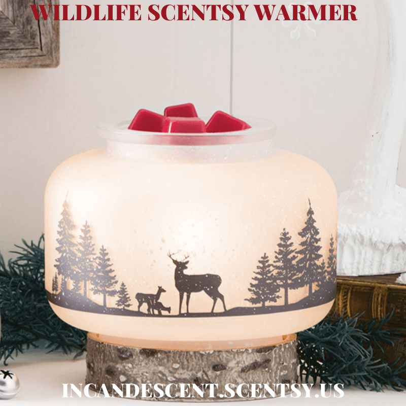 SCENTSY DECEMBER 2017 WARMER & SCENT OF THE MONTH – WILDLIFE ...