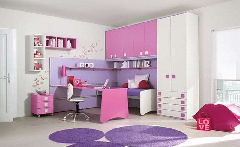 bedrooms+pink+purple | ... by Colombini : Lovely Purple Pink ...