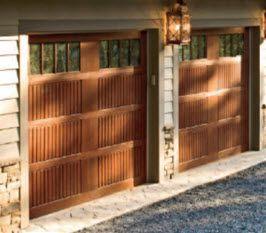 Garage Door With Vertical Slat Panel   Model 983 Hill Country Overhead Door  Www.sanantoniodoor