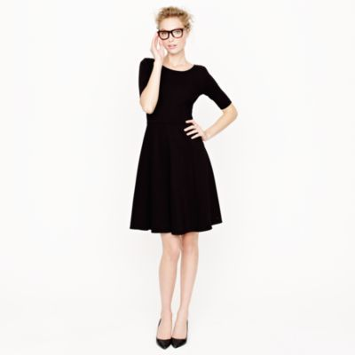 j.crew a-line ponte dress //  wish this wasn't sold out!