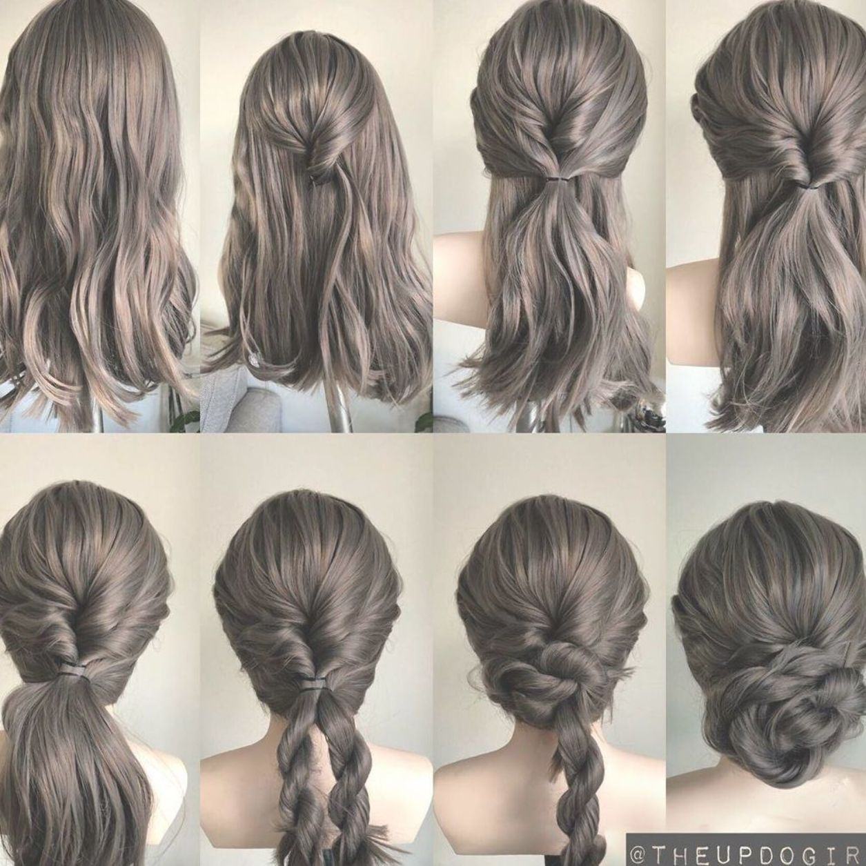 Gorgeous And Easy Homecoming Hairstyles Tutorial For Women With Medium Shoulder Length To Long Hair Hair Styles Easy Homecoming Hairstyles Long Hair Styles