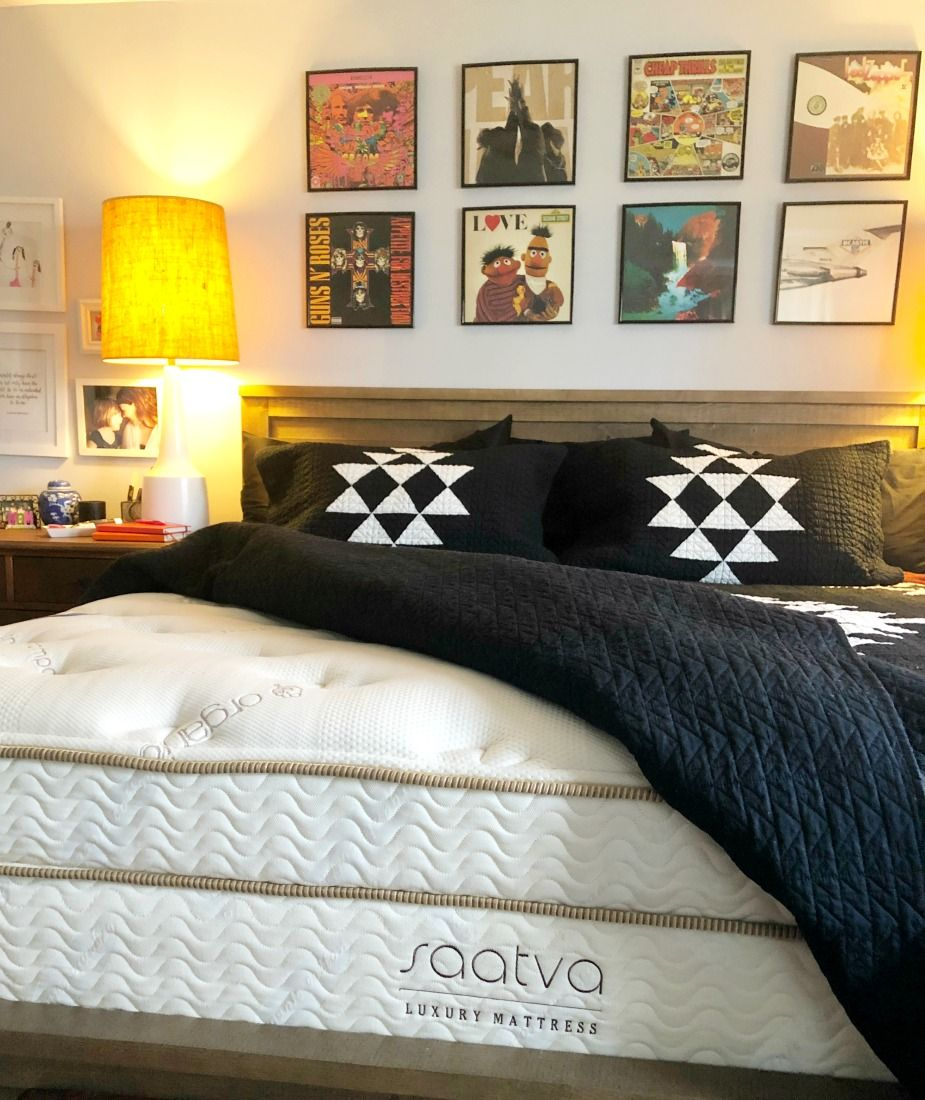 Saatva Mattress Review And Bedroom Reveal Mattresses Reviews