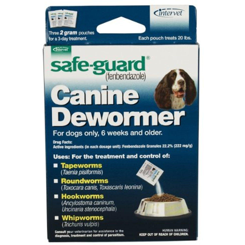 Panacur puppy wormer dosage