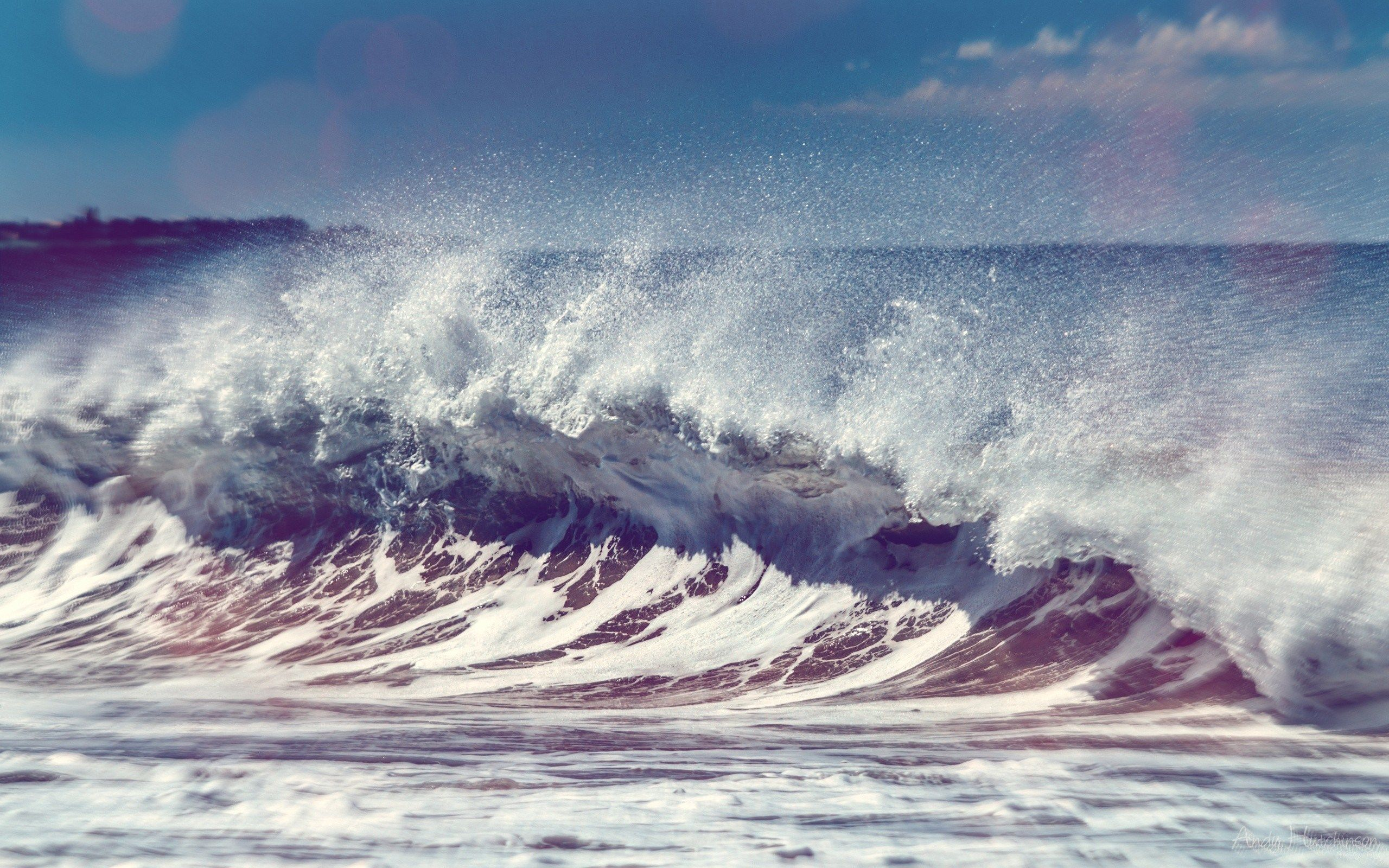 2560x1600 High Resolution Wallpapers Widescreen Wave Waves