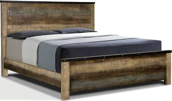 old wood bed frame | Home ideas | Pinterest | Wood beds, Bed frames ...