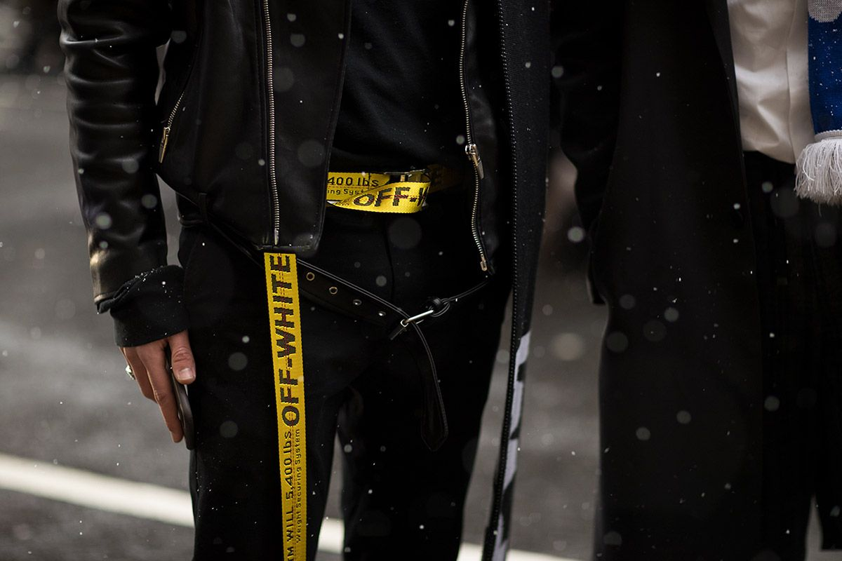Off White Industrial Belt Off White Fashion Off White Belt Off White Industrial Belt