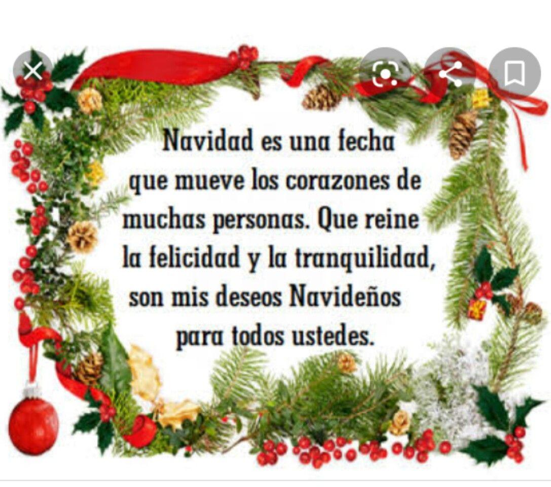 Feliz Navidad Prospero Año Y Felisidad Mensaje Navideño Tarjetas Feliz Navidad Poemas De Navidad