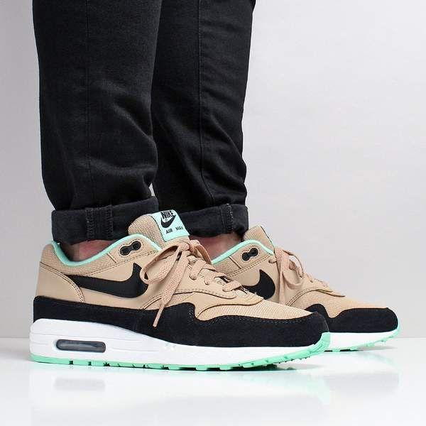 Nike Air Max 1 Desert Black Green Glow White – Urban
