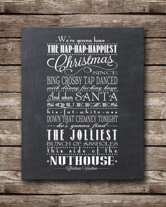 Christmas Vacation Quote Clark Griswold JPEG Printable