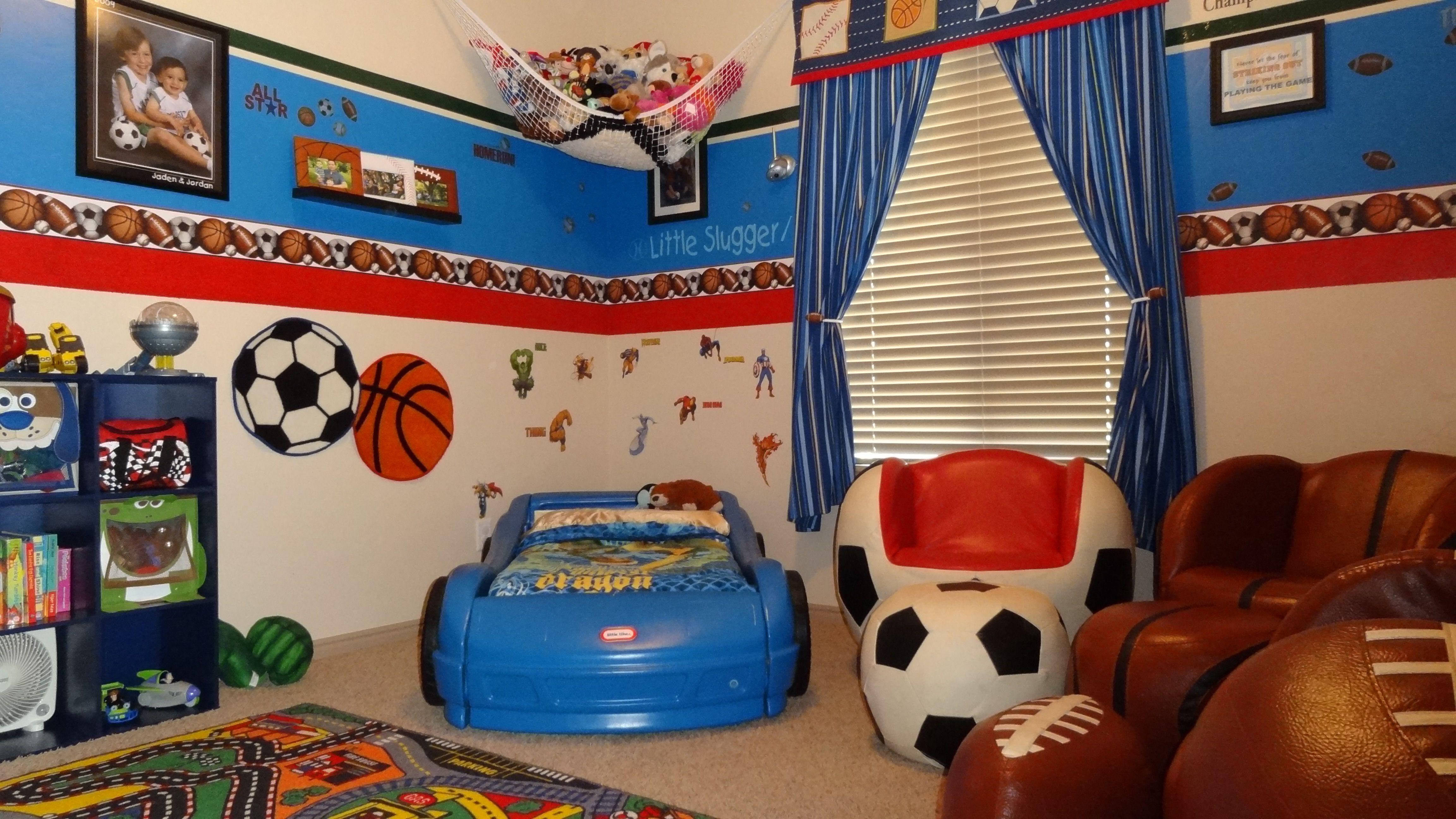 Sports Superhero Car Themed Kids Room Diy Home Design Inspiration