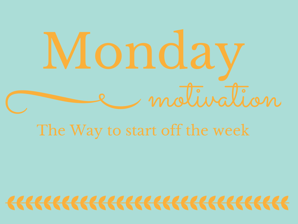 Monday Metavators: Motivational Monday + Linkup