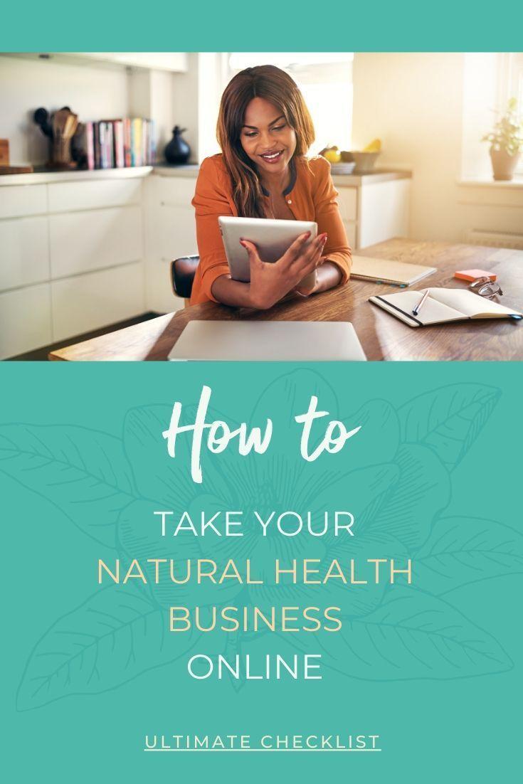 Online health business setup checklist in 2020 health