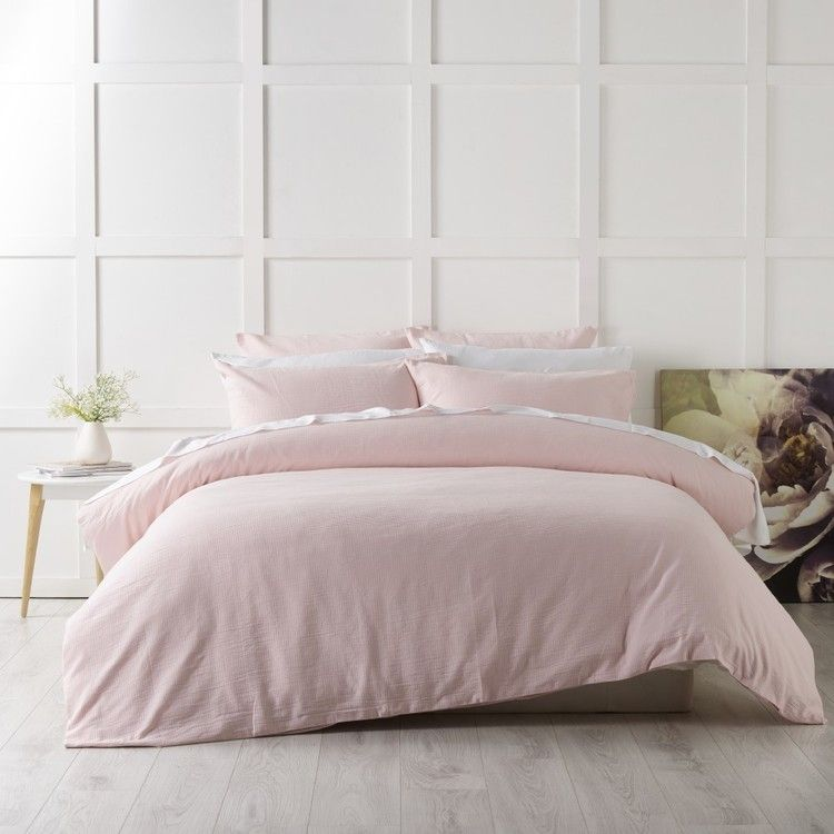 Koo Corso Quilt Cover Set Blush King Quilt Cover Sets Single Size Bed Quilt Cover