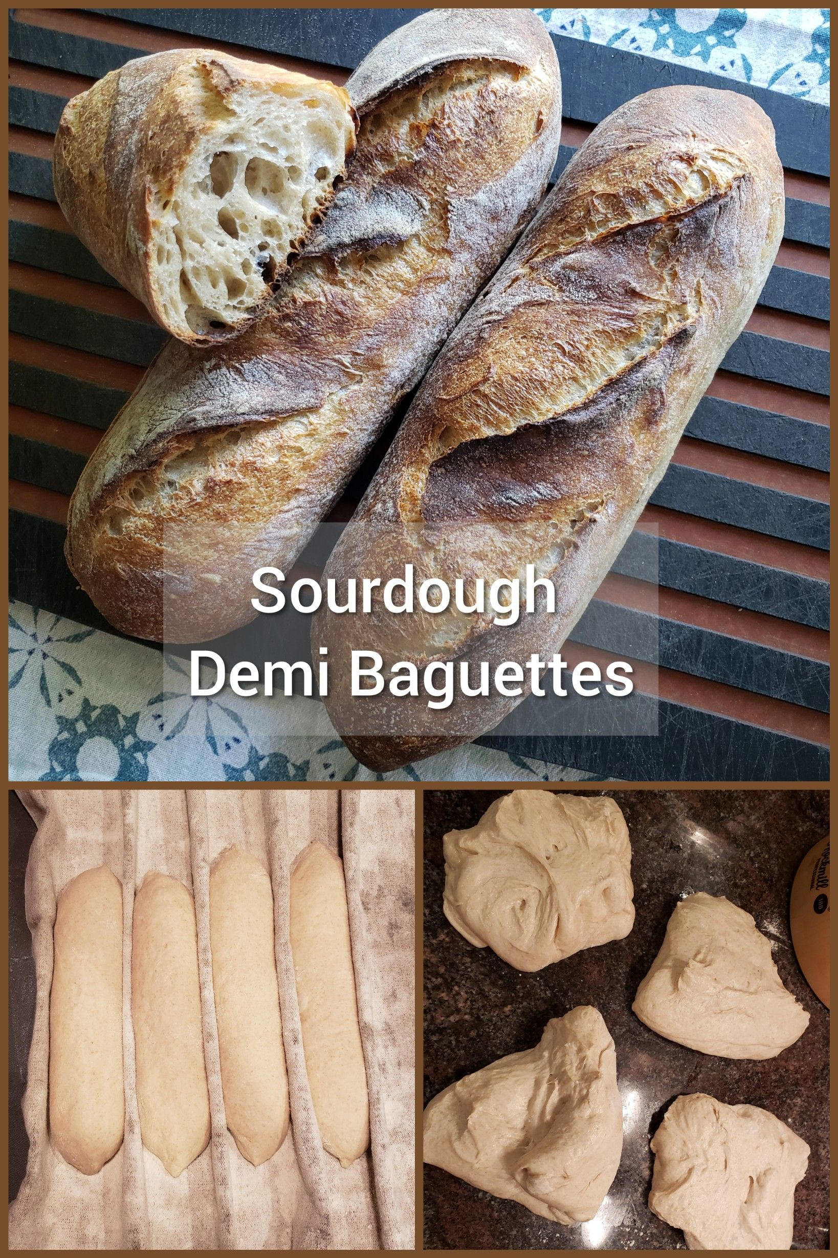 Demi Baguettes With Yecora Rojo Wheat Recipe Baguette Food To