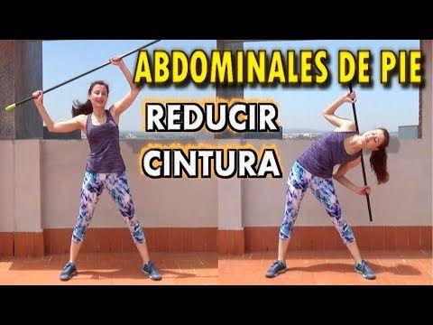 rutina para reducir cintura y aplanar abdomen en casa