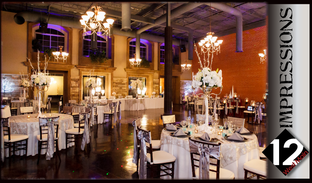 12 West Main Wedding Event Center Wedding Reception Hall Wedding