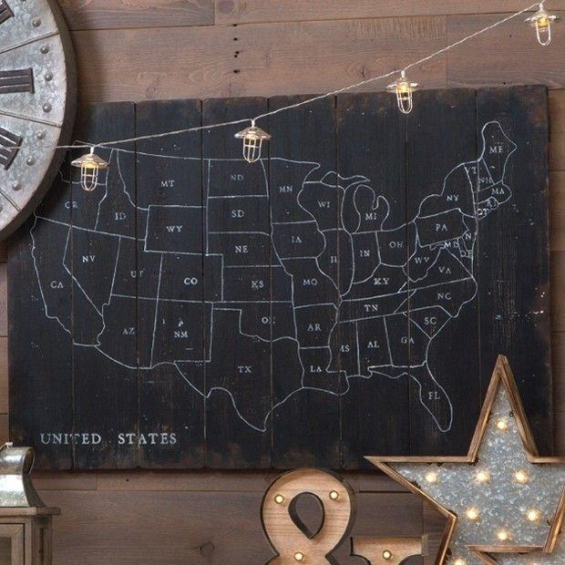 Prepossessing Us Map Wall Art Decorating Inspiration Of United - Us map wall art