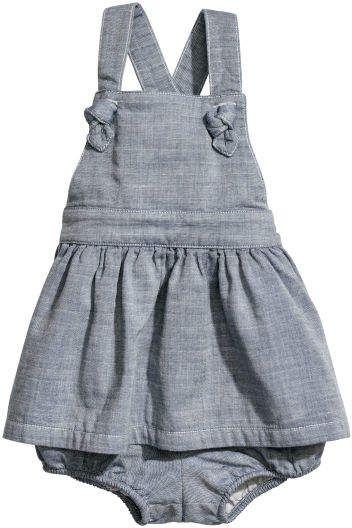 c89eaa616e7f Dress and Puff Pants | •Kid's Fashion• | Baby girl pants, Baby Dress ...
