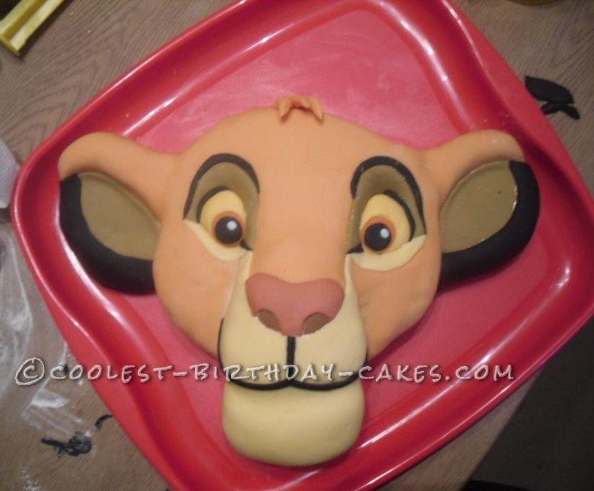 Pumba Cake: Coolest Lion King Simba Cake