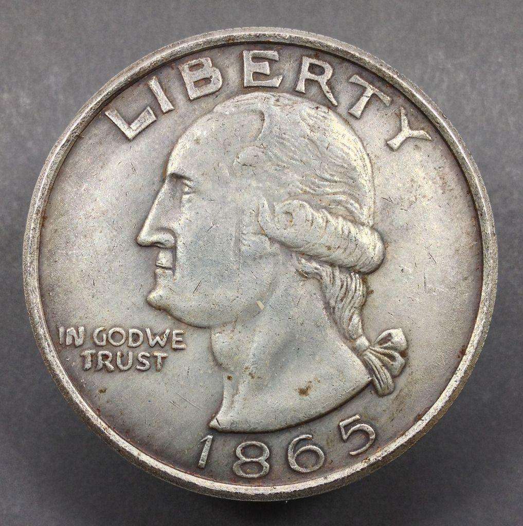 My 1865 George Washington Fantasy Dollar Coin Community Forum Dollar Coin Coins Coin Worth