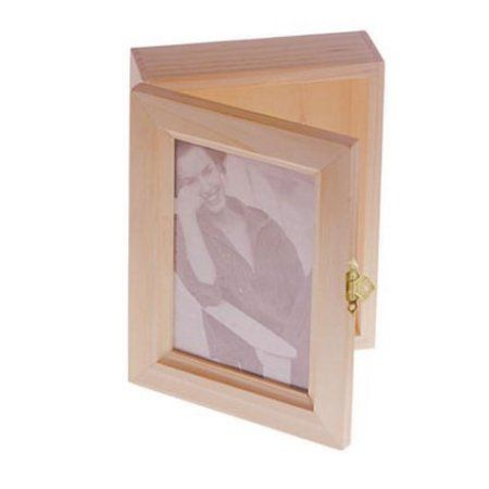 Wood Box Hinged With Frame Lid 7 X 55 Inches Products