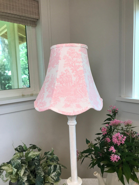 Pink Lamp Shade Shades, Pink And White Lamp Shades
