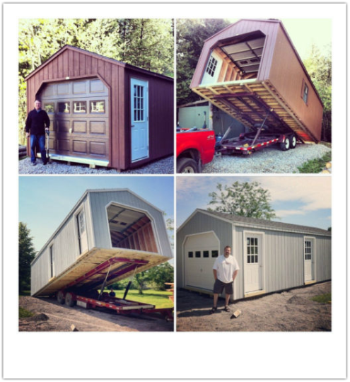 Garage Storage Sheds » North Country Sheds in 2020