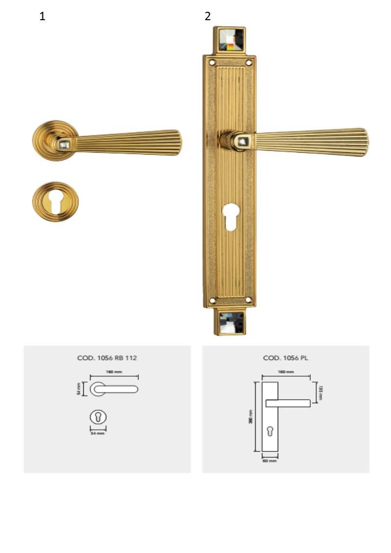 Opera Crystal Vintage Neoclassic Style Door Handle Collection
