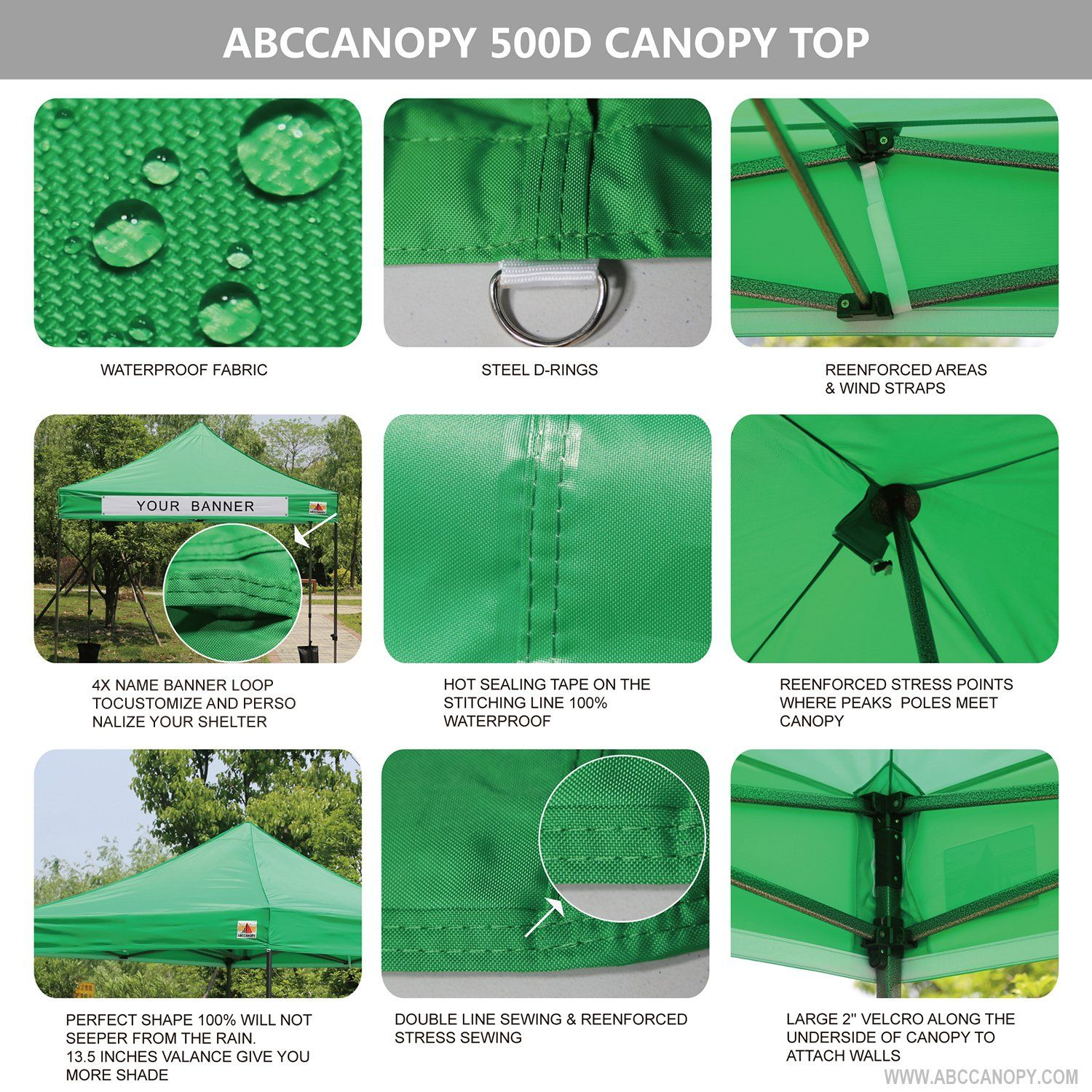 Abccanopy 20 Colors 10feet By 10feet Festival Steel Instant Canopy Commercial Level With Wheeled Storag With Images Weight Bags Outdoor Storage Instant Canopy