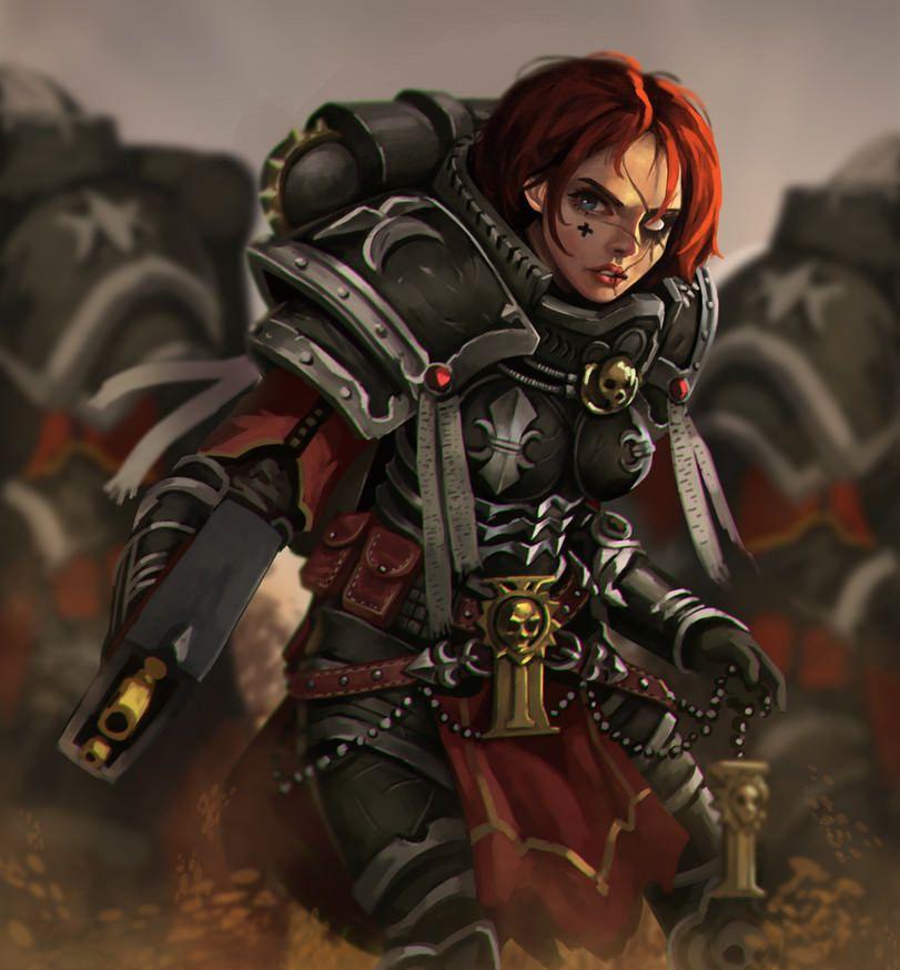 WARHAMMER 40K! | Warhammer 40k, 40k sisters of battle ...