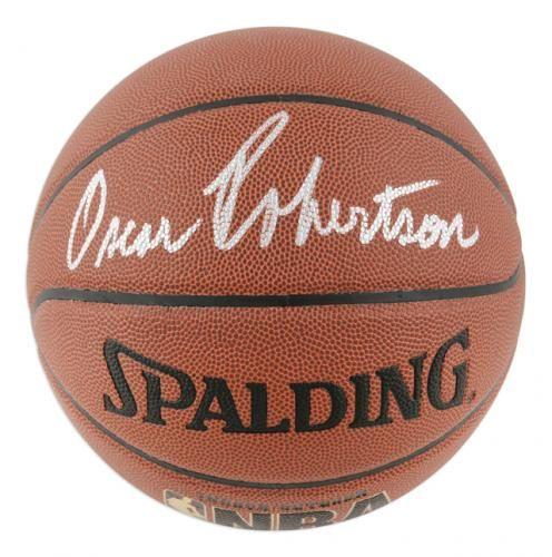 Oscar Robertson Autographed Basketball #SportsMemorabilia #MilwaukeeBucks