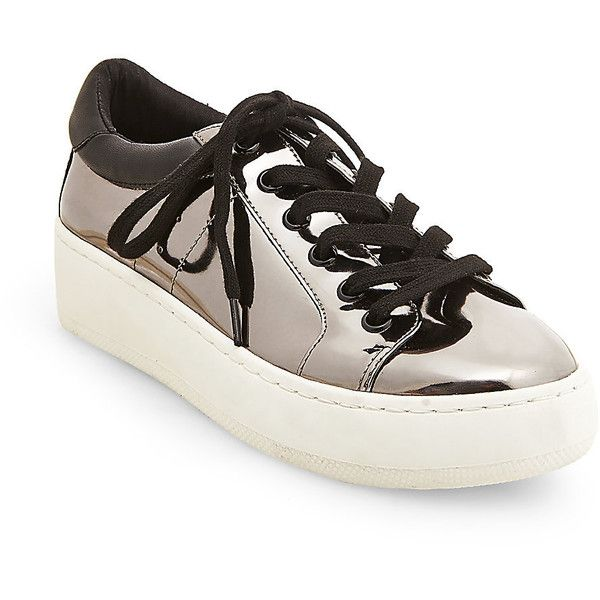 34a0bb5de45 Steve Madden Bertie-M Sneakers ( 70) ❤ liked on Polyvore featuring shoes